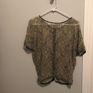 Pins and needles Lacey top